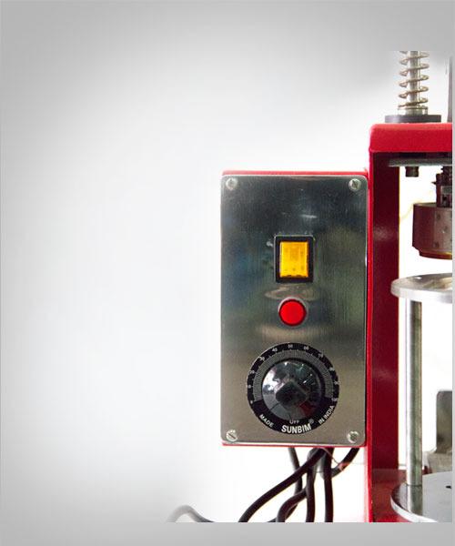 Control panel close-up