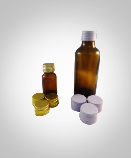 PP cap and bottle samples