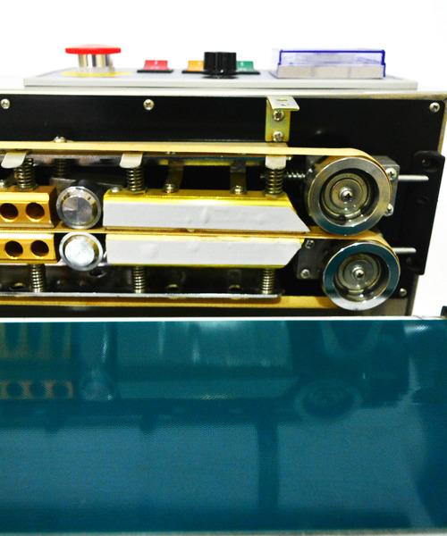 Heating unit close-up