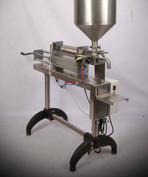 Single Head Volumetric Piston Filler